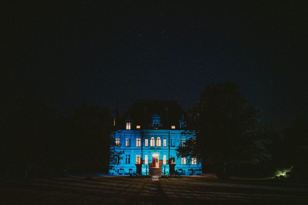 Château de la Valouze Night